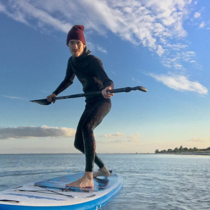 Strandhygge og Stand up Paddle Surfing