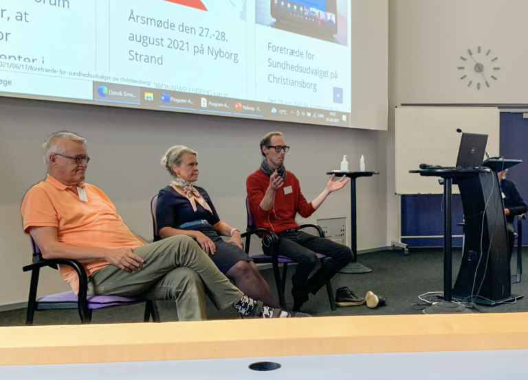 Lars Bye Møller Paneldebat Dansk Smerteforum